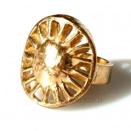 "Кольцо из бронзы ""Saulė"" BŽ042"