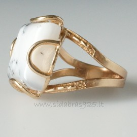 Bronze ring Agatu BŽ160