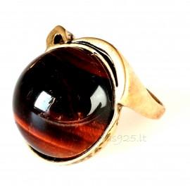 Кольцо из бронзы Jaučio akmeniu BŽ531
