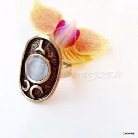 Žalvarinis žiedas ŽŽ181
