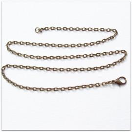 Brass chain flattened ŽG4-45/50