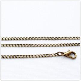 "Brass chain ""Kasytė""ŽG5-45/50/52/80/90 cm"