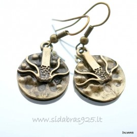 Brass earrings ŽA263