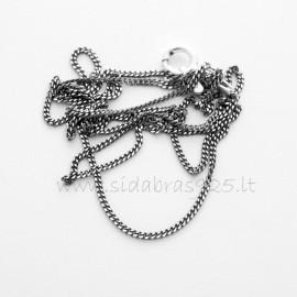 """Chain """"Smulkutė (juodinta)"""" G0,3-55"""