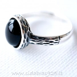 Ring with Onyx Ž147