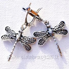 "Earrings ""Dragonflies"" A639"