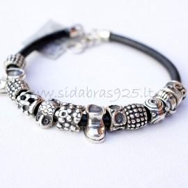 Bracelet with genuine leather AP12Ž