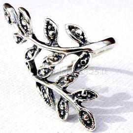 Žiedas su lapelias Ž546