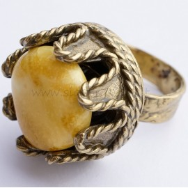 Žalvarinis žiedas ŽŽ654