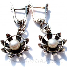 Earrings with Pearls A258