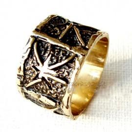Žalvarinis žiedas ŽŽ083