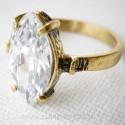Žalvarinis žiedas su Cirkoniu ŽŽ113