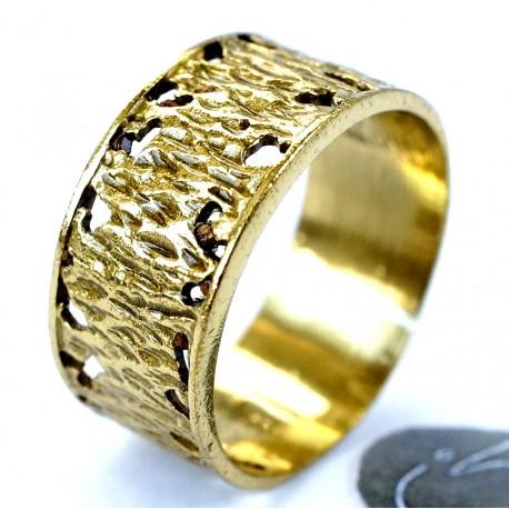 Žalvarinis žiedas ŽŽ418