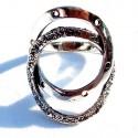 Žiedas pora apskritimų Ž076