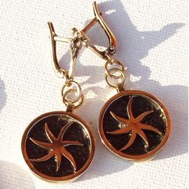 Žalvariniai auskarai ŽA045