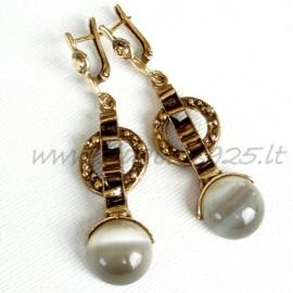 Brass earrings ŽA521