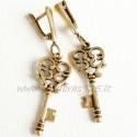 Brass earrings ŽA520