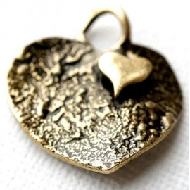 "Brass pendant ""Širdutė"" ŽP313"