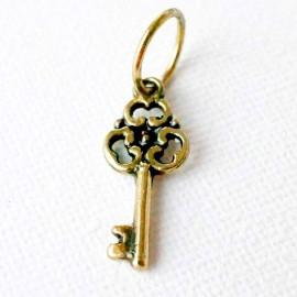 """Подвеска латунный маленький """"Ключ"""" ŽP520"""
