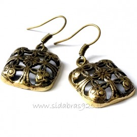 Brass earrings ŽA513
