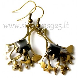 Brass earrings ŽA231