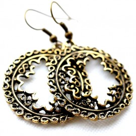 Brass earrings ŽA577