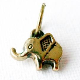 """Подвеска из латуни """"Слон"""" ŽP509"""