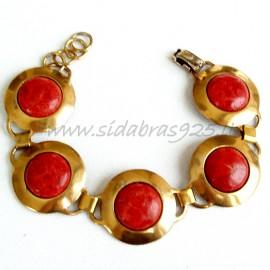 Brass bracelet ŽAP425