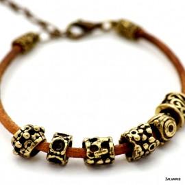 "Brass bracelet ""Ratukai"""