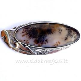 """Sold Out Unique jewelry Brooch """"Svajonių miškas"""""""