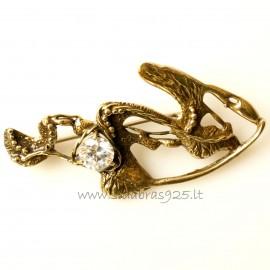 Brass brooch ŽS464