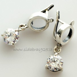 Earrings with Zirconia A700