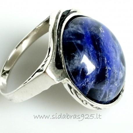 Žiedas su Sadolitu Ž531