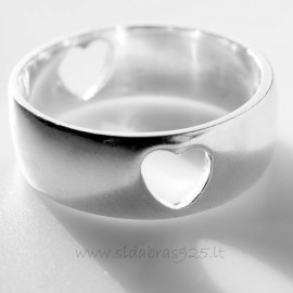 """Vestuvinis žiedas """"Meilės"""" Ž144"""