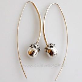 """Earrings """"Oak acorns"""""""
