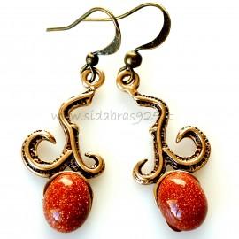Bronze earrings BA271