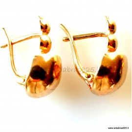 "Bronze earrings ""BS"""