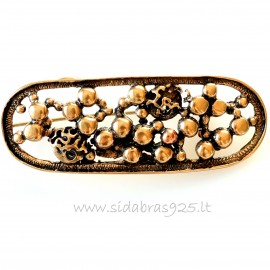 "Bronze brooch ""Bubbles"""