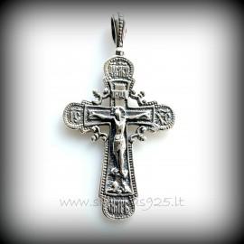 Подвеска Православный крест P-D