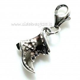 """Pendant """"Shoe with fastening"""" P517"""