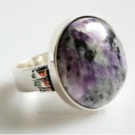 """Unique jewelry žiedas """"Pasaulis su Čaroitu"""""""