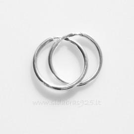 """Earrings Hoop """"Austėja"""" AR - 1,5 cm"""