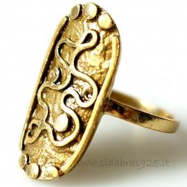 Žalvarinis žiedas ŽŽ157