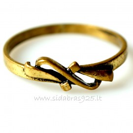 "Brass ring ŽŽ ""Ribbon"""