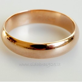 """Žiedas """"Venera"""" 4 mm"""