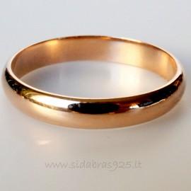 """Žiedas """"Venera"""" 3 mm"""