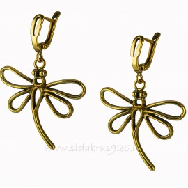 "Brass earrings ""Laumžirgis"" ŽA568"