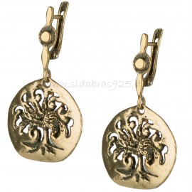 Brass earrings ŽA556