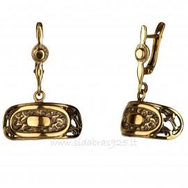 """Brass earrings ŽA """"Lada"""""""