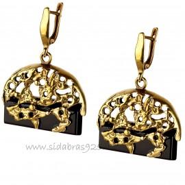 """Brass earrings ŽA720 """"Suas"""""""